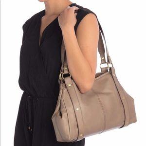 HOBO Pinion leather shoulder bag